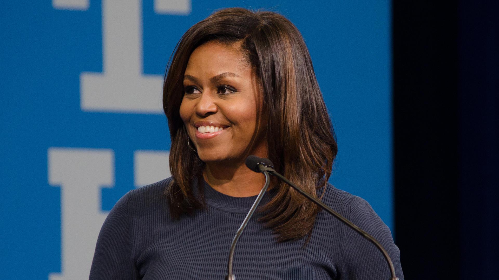 Michelle Obama, modello per molte donne negli USA