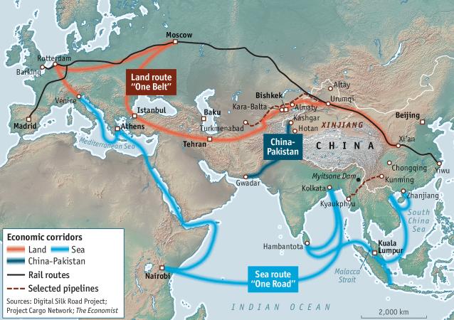 Cartina Climatica Cina.Nuove Vie Della Seta Tra Ue E Cina Scontro O Integrazione Ispi