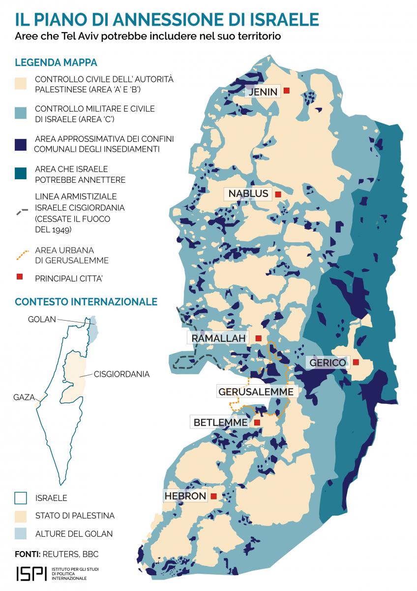 Stato Di Israele Cartina Fisica.Dal Piano Trump Agli Accordi Di Israele Con Emirati Arabi Uniti E Bahrain