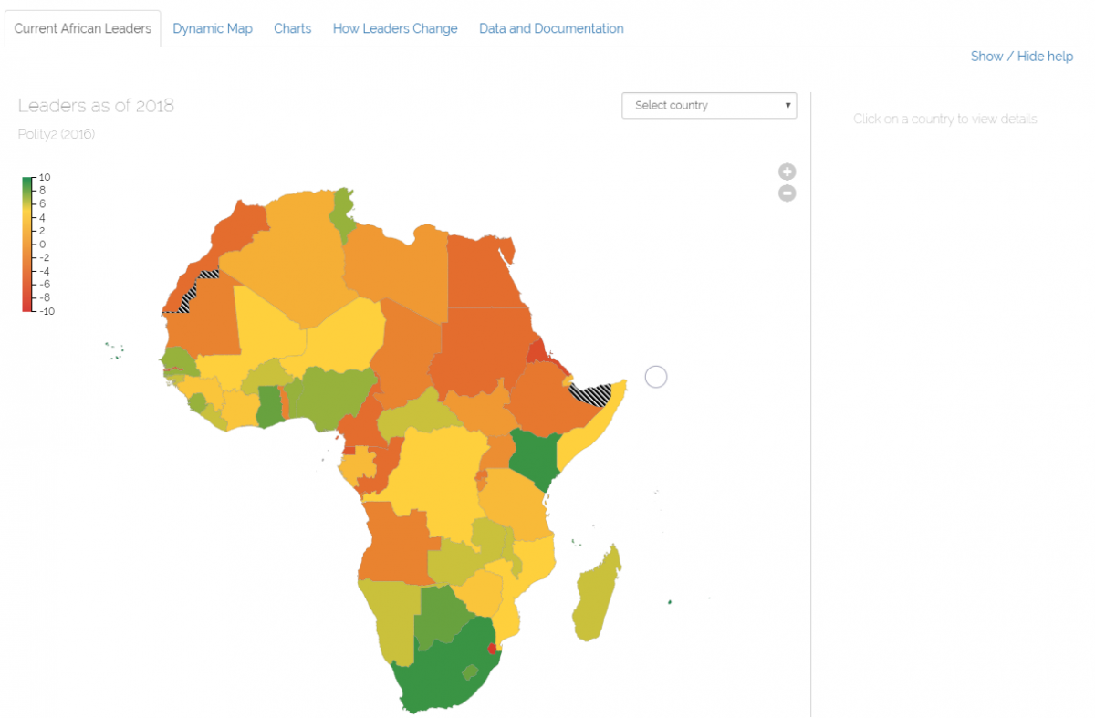 Current Map Of Africa Countries.Africa Leadership Change Project Ispi